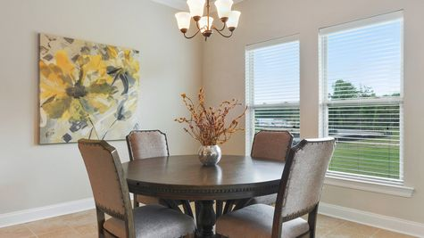 Dining Room - Savoy Place - DSLD Homes Gulfport