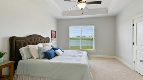 Master Bedroom - The Reserve at Conway Community - DSLD Homes - Baton Rouge