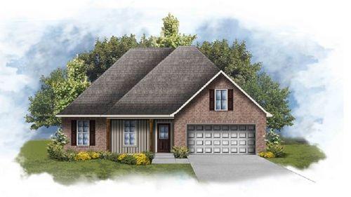 Ravenswood IV G - Front Elevation - DSLD Homes
