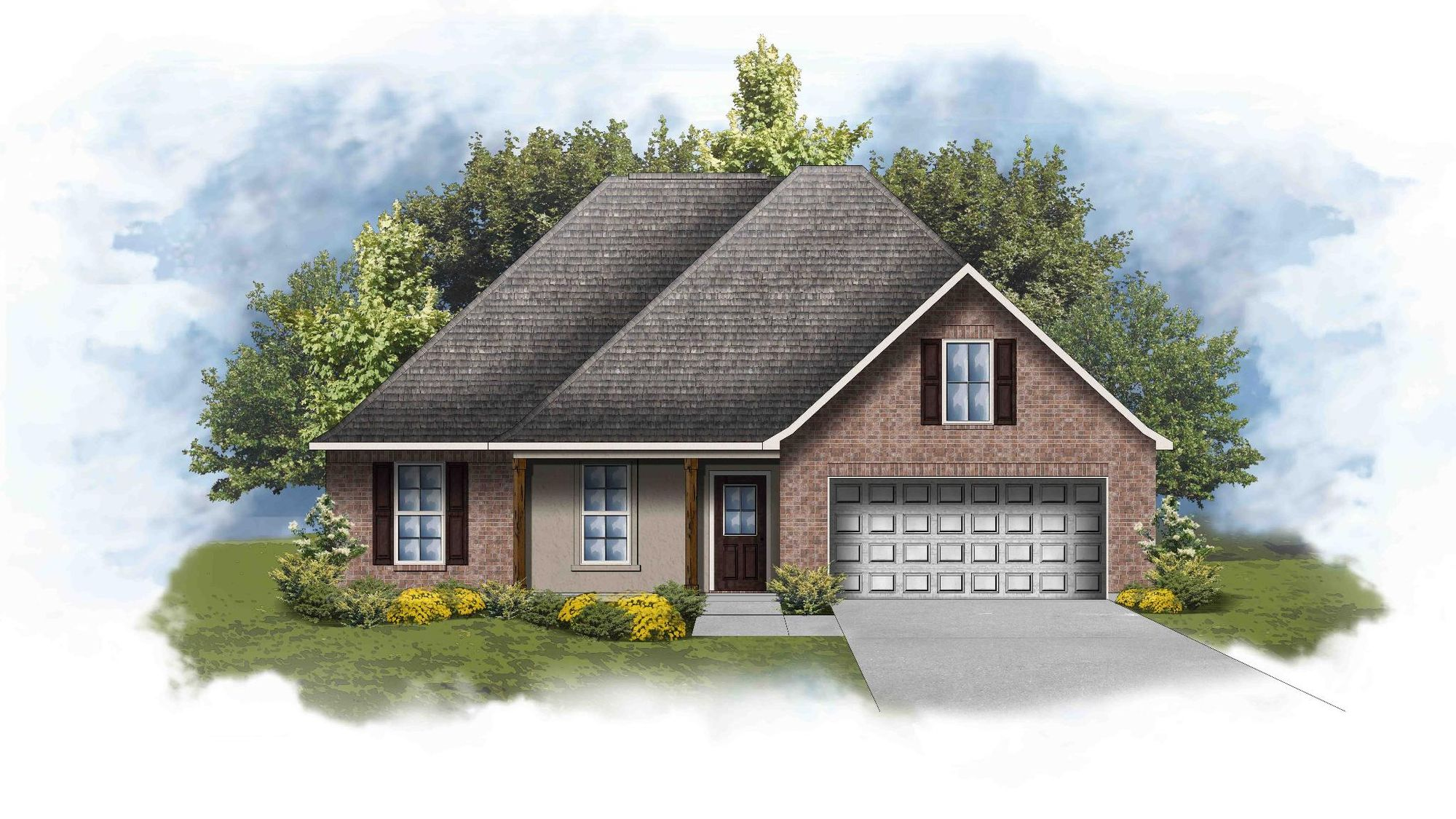 Redwood IV A - Open Floor Plan - DSLD Homes