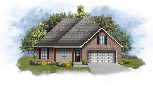 Rennes IV A - Open Floor Plan - DSLD Homes