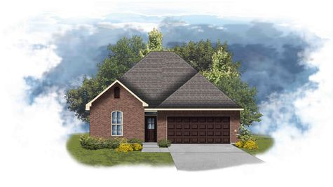 Azalea III A - Front Elevation - DSLD Homes