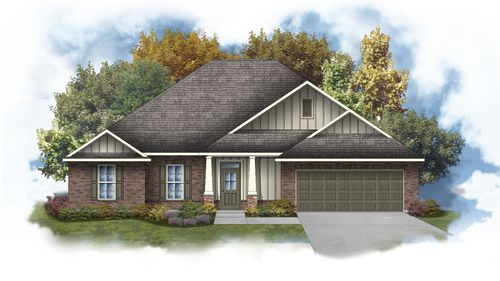 DSLD Homes - Hendricks IV B Floor Plan Elevation Image