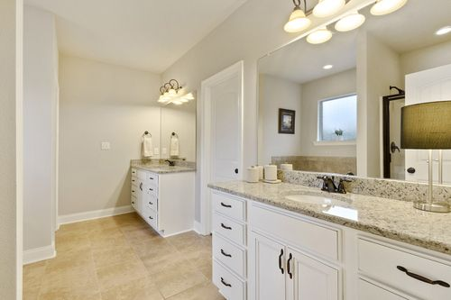 Churchill - Model Home Master Bathroom - DSLD Homes - Hutchinson II C - Spanish Fort, AL