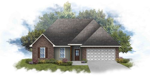 Rosman IV G - Front Elevation - DSLD Homes