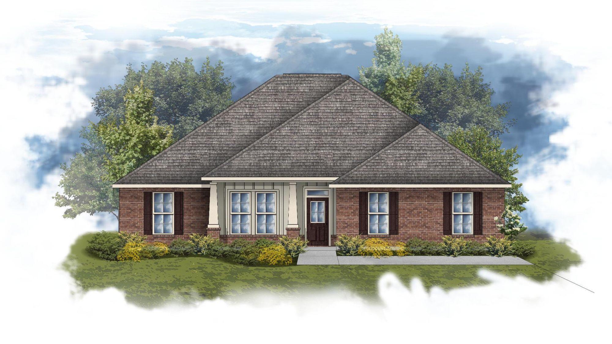 Ivanhoe II A - Open Floor Plan - DSLD Homes