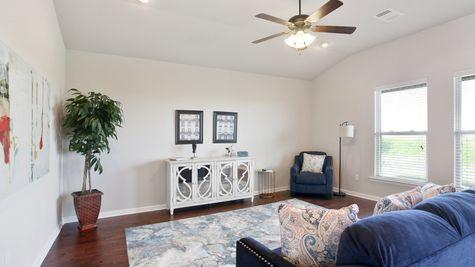 DSLD Homes - Liberty IV Open Floorplan Living Room Image