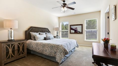 Natural Light- cream- Master Bedroom- Open Floor Plan- Model Home- Silver Hill- Community- Ponchatoula Louisiana- Hammond area- DSLD Homes