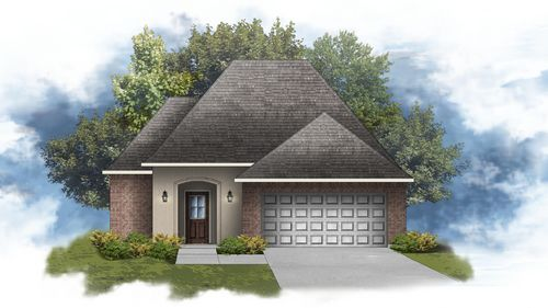 DSLD Homes - Front Elevation