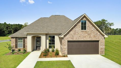 Front of Model Home - Castine Pointe - DSLD Homes Long Beach