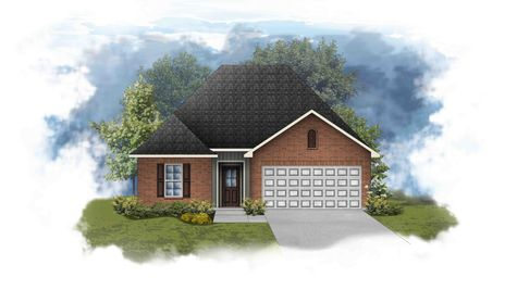 Connelly III G - Front Elevation - DSLD Homes