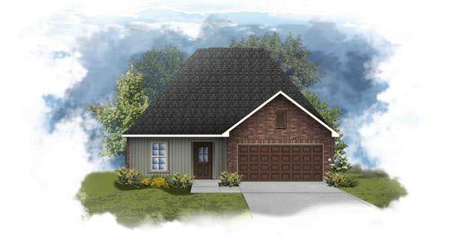 Nolana III G - Front Elevation - DSLD Homes