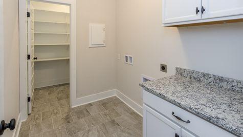Oldtown II D - Open Floor Plan - DSLD Homes - Laundry room