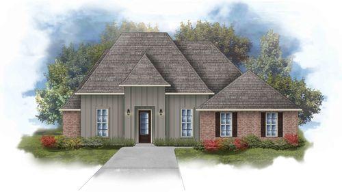 Renoir IV H - Front Elevation - DSLD Homes