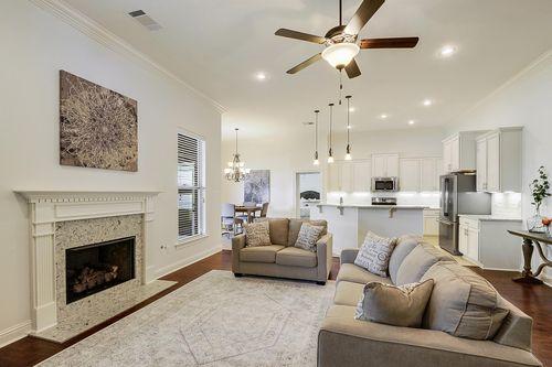 Spring Lakes - Model Home Living Room - DSLD Homes - Deacon IV A - Covington, LA