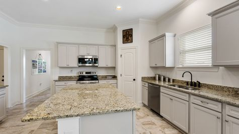 Sugar Ridge Model Home Kitchen - Sugar Ridge Community - DSLD Homes - Lafayette