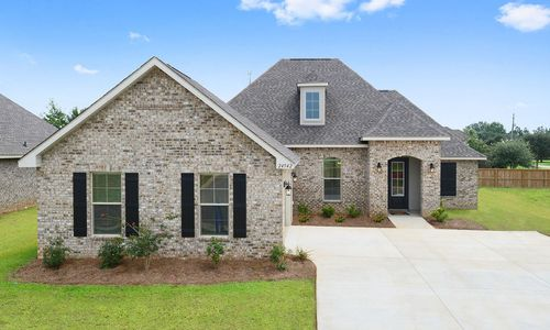 Canaan Place - Model Home Exterior - DSLD Homes - Claudet II B - Daphne, AL