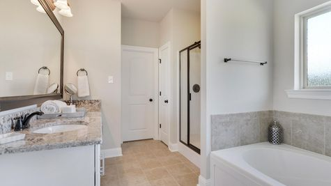Master Bathroom - Nickens Lake- DSLD Homes Denham Springs