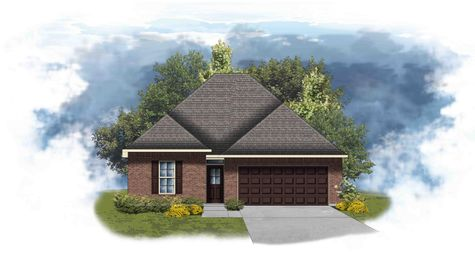 Azalea III B Open Floor Plan - DSLD Homes