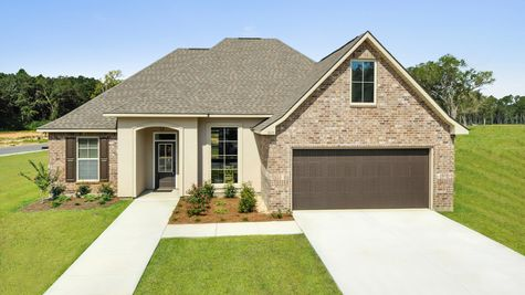 Lakeview Gardens Community - Rose IV B Plan - Castine Pointe Model Home - Foley, Alabama