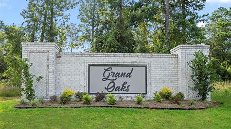 Grand Oaks Estates - DSLD Homes - Community Entrance Sign - Gulfport, Mississippi