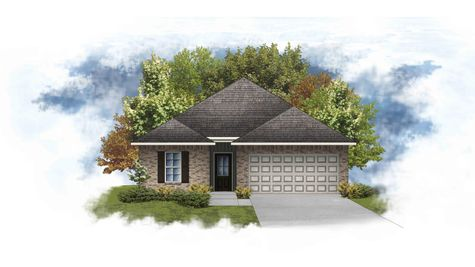Prospect IV G -  Front Elevation - DSLD Homes