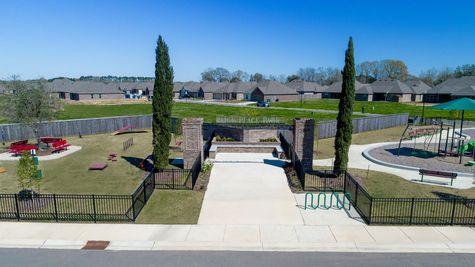 Paige Place Aerial View - DSLD Homes - Community Park - Broussard, LA