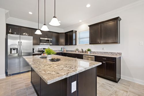 Hatten Farms - Model Home Kitchen - DSLD Homes - Lamar IV A - Gulfport, MS