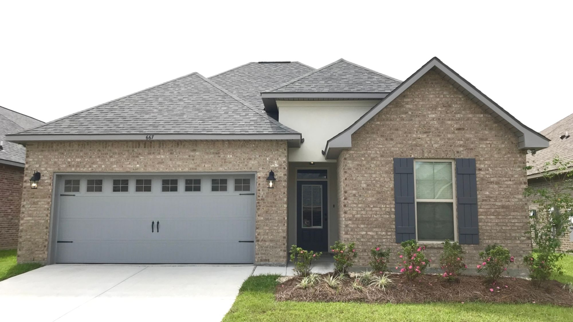 Front View - The Reserve at Conway Community - DSLD Homes - Gonzales