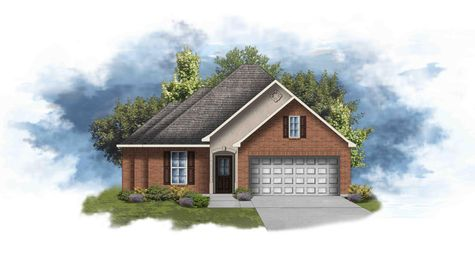 Cypress II A - Front Elevation - DSLD Homes