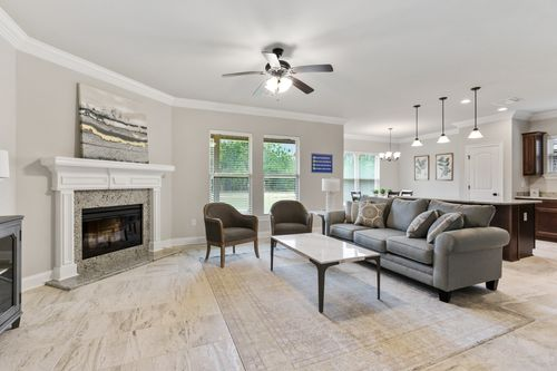 Ledgewick - Model Home Living Room - DSLD Homes - Roebuck IV B - Foley, AL