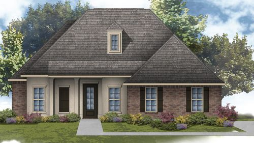 Heron II A - Front Elevation - DSLD Homes