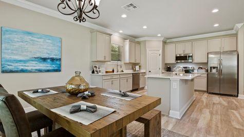 DSLD Homes- Hidden Lakes Estates- Denham Springs- Model Home Dining Room