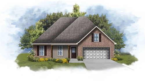 new homes in milton, FL in cherokee road by DSLD Homes