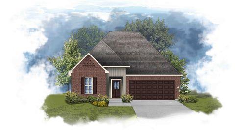 Trillium III G - Front Elevation - DSLD Homes