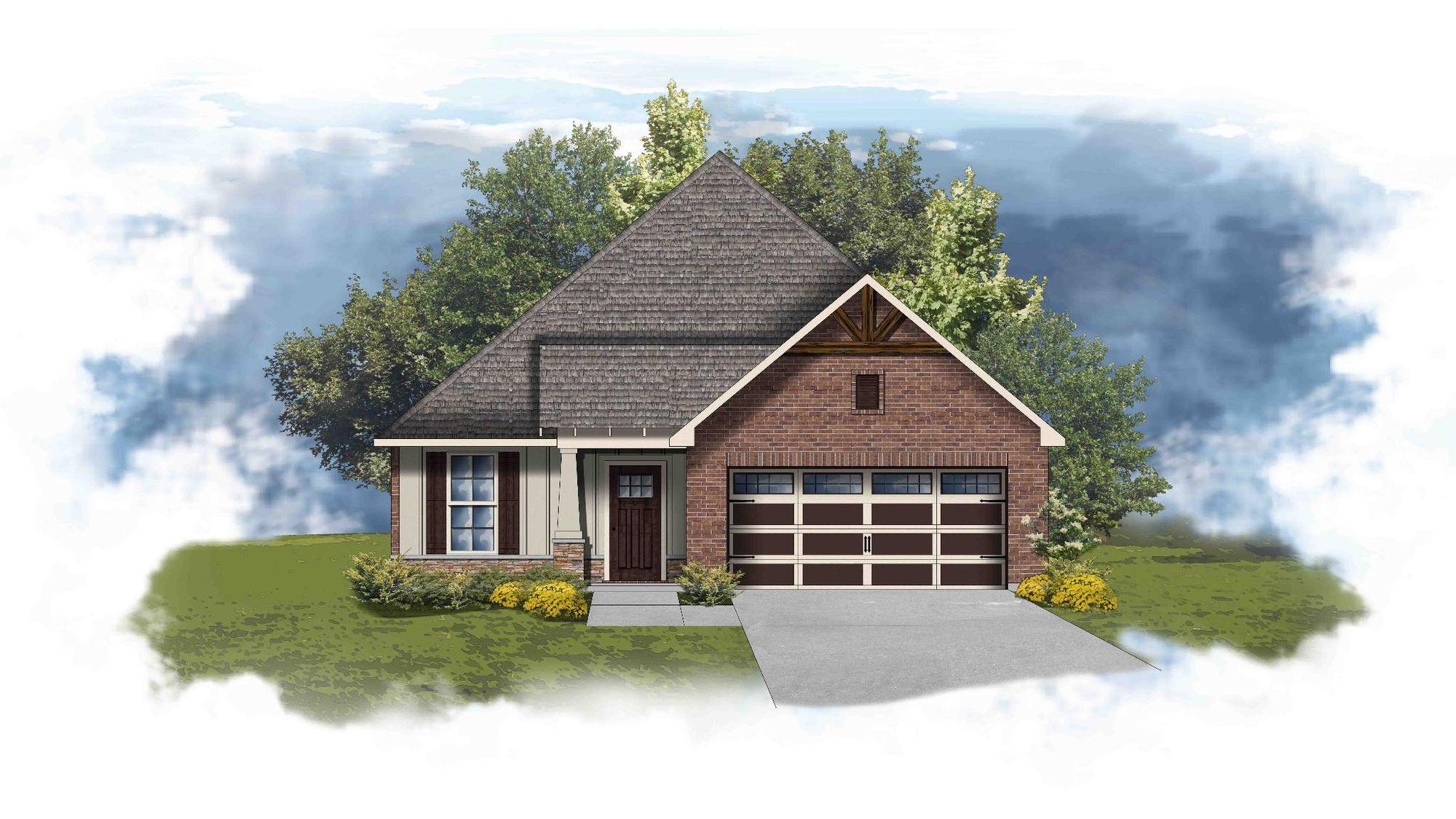 Tanner II A - Open Floor Plan - DSLD Homes