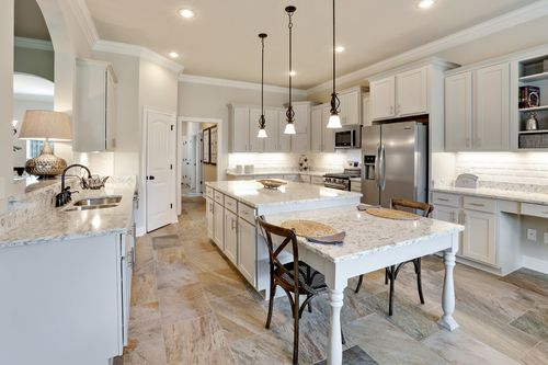 The Waters - Model Home Kitchen - DSLD Homes - Renoir III B - Gulf Breeze, FL