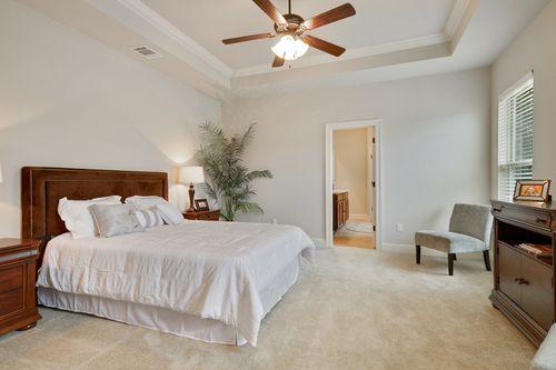 Woodland Manor - Model Home Master Bedroom - DSLD Homes - Reims IV C - Gonzales, LA