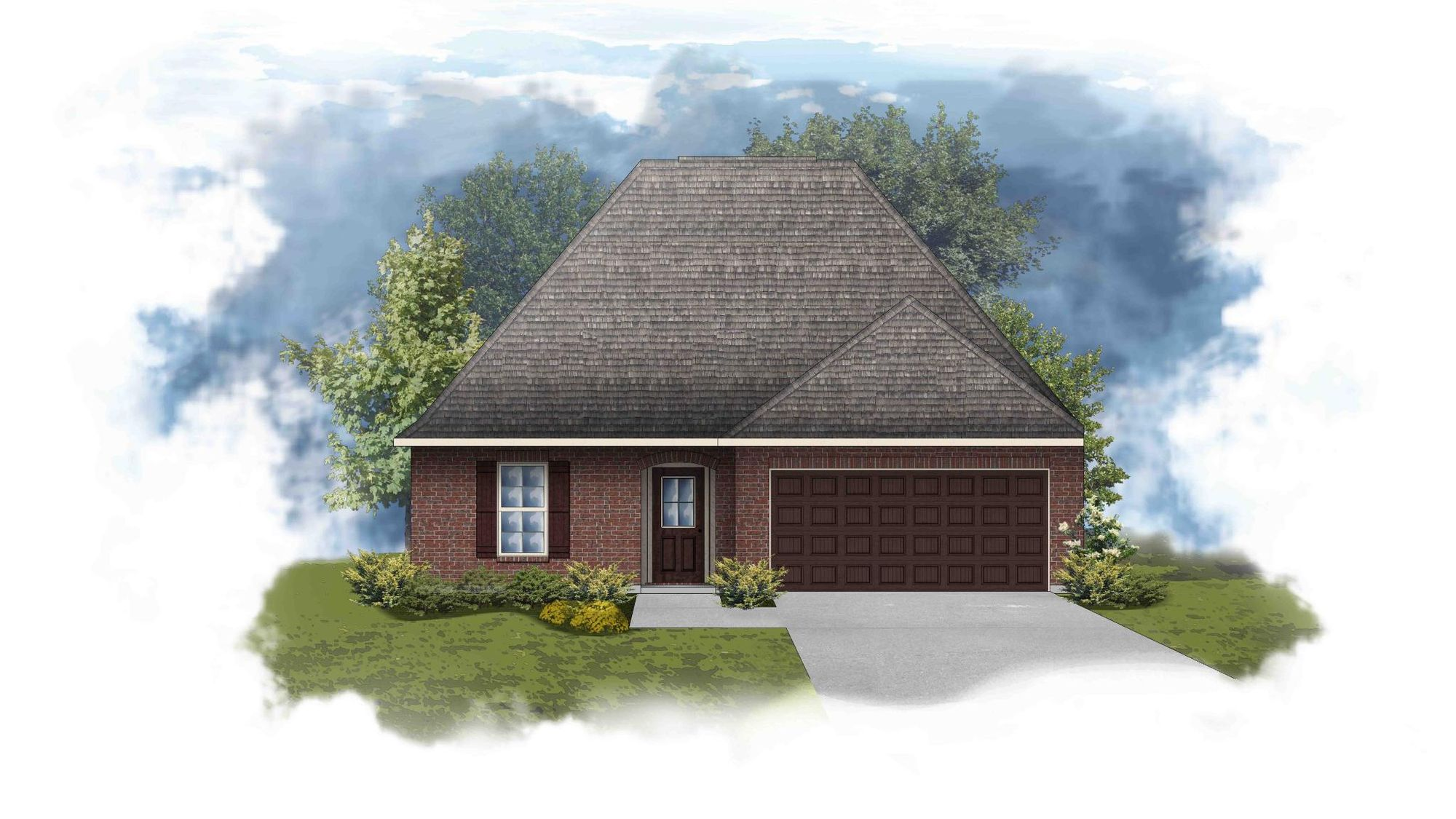 Navona III B - Open Floor Plan Elevation Image - DSLD Homes