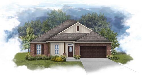 Rodessa III H - Front elevation - open floor plan