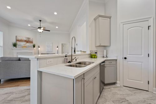 Fairview Gardens Model Home Kitchen - Cezanne III A - Zachary, LA