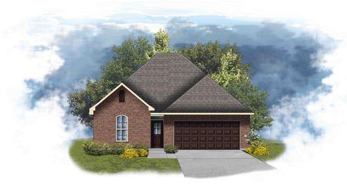 Azalea III B - Front Elevation - DSLD Homes