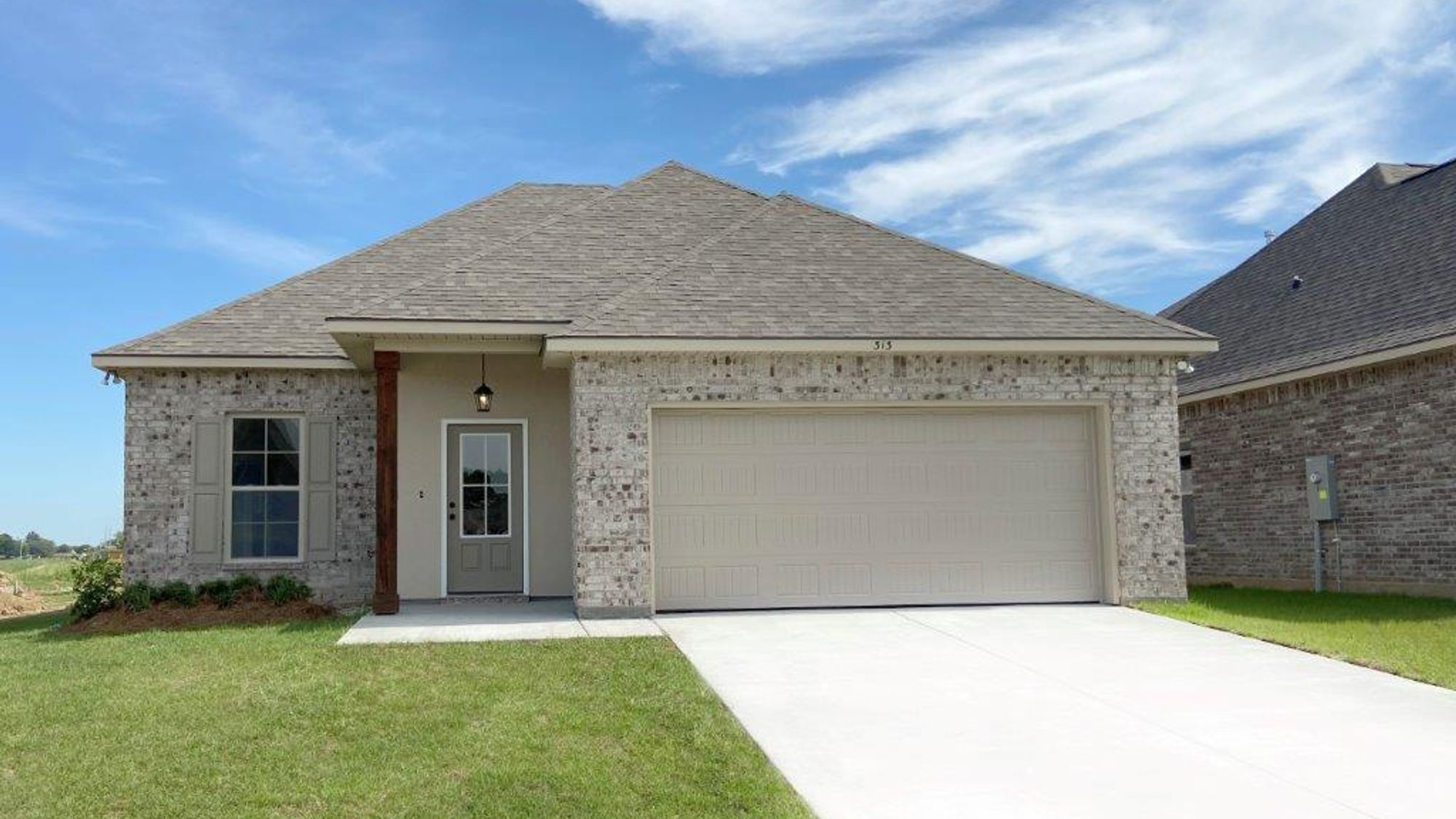 Front View Dogwood III B - Sugar Ridge Community - DSLD Homes Youngsville