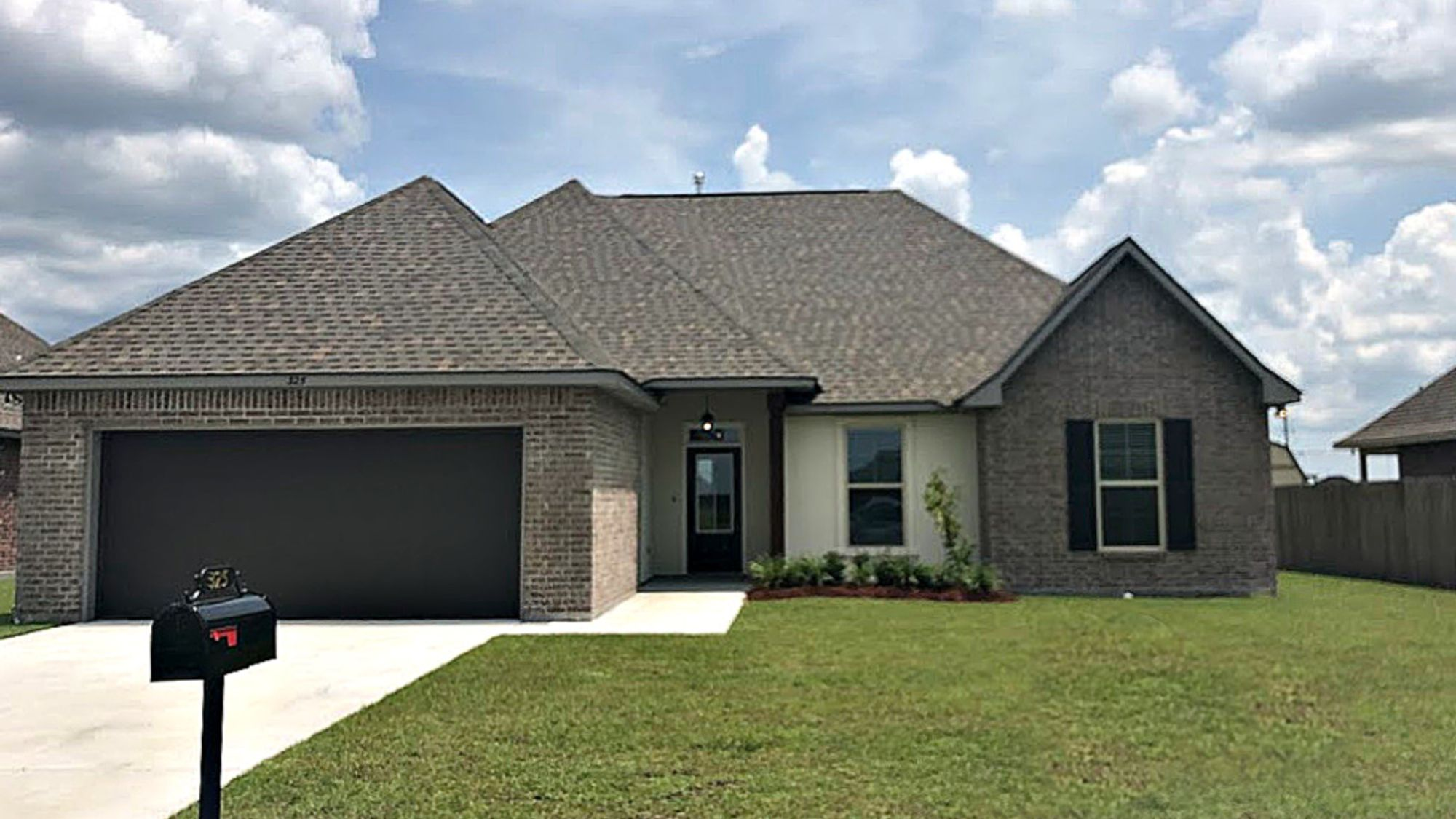 Front View - King George Estates Community - DSLD Homes Thibodaux