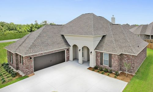 River's Edge - Model Home Exterior - DSLD Homes - Dubois IV A - D'Iberville, MS