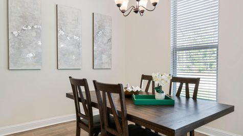 DSLD Homes - Ketty II B Open Floorplan - Dining Room Image - Coburn Lakes -  Hammond, LA