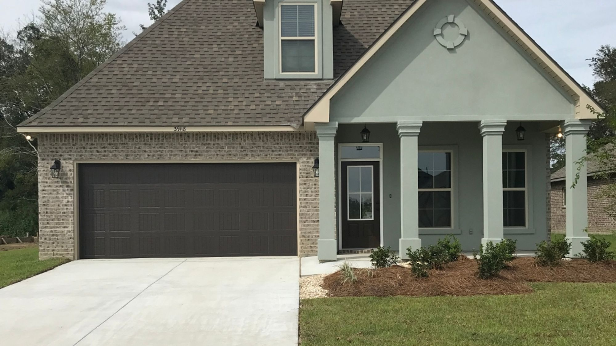 Front View - Grand Oaks Community - DSLD Homes - Gonzales