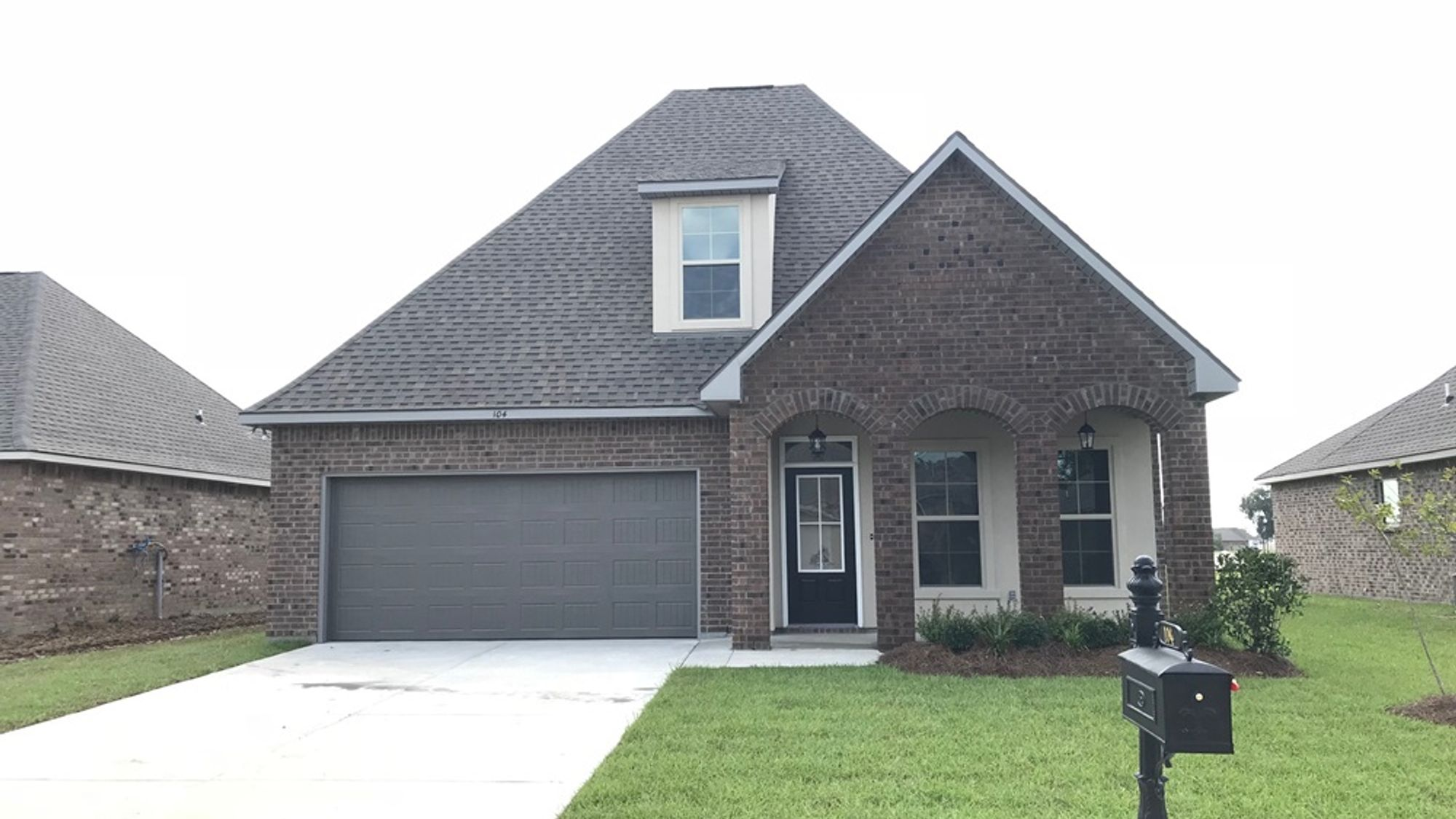 Canna III C - Front View – Paige Place Community - DSLD Homes