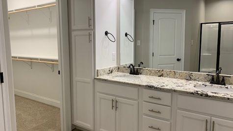 Lafayette Place Model Home- Alabama- DSLD Homes- Master Bathroom Suite