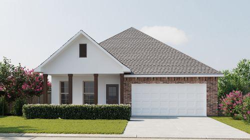 Oxford IV A - Front Elevation - DSLD Homes